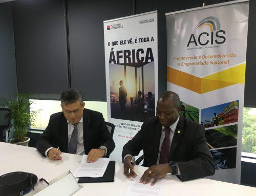 ACIS e Société Genéralé celebram Memorando de Entendimento